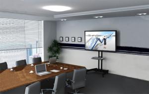 Televizní stojan na konference, výstavy a prezentace NB AVA1500-60-1P