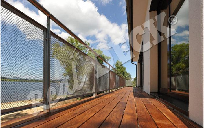 Fotogarfie: dřevěné terasy