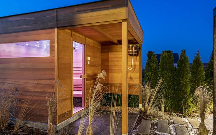 Fotografie: finské sauny